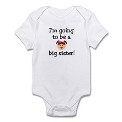 I'm going to be a big sister! Infant Creeper