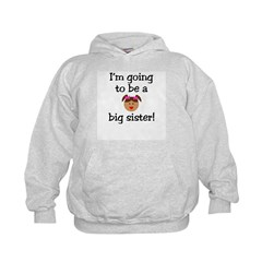 I'm going to be a big sister! Hoodie