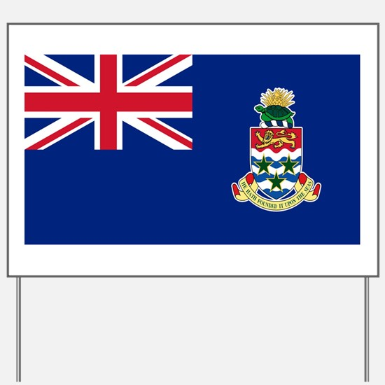 Cayman Islands Flag Yard Sign