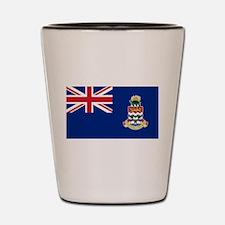 Cayman Islands Flag Shot Glass