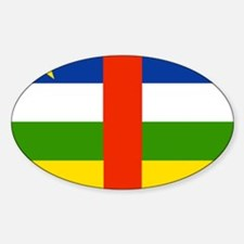 Central African Republic Flag Decal