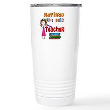 Cute Teacher retirement Travel Mug