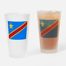 Democratic Republic of Congo Flag Drinking Glass