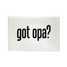 got opa? Rectangle Magnet