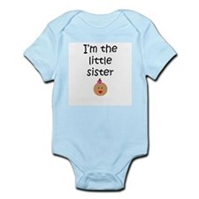 I'm the little sister 2 Infant Creeper