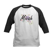 Micah Artistic Name Design with Fl Baseball Jersey