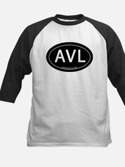 Asheville NC AVL Kids Baseball Jersey