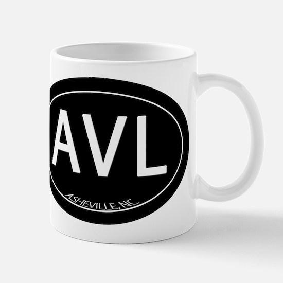 Asheville NC AVL Mug