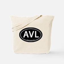 Asheville NC AVL Tote Bag