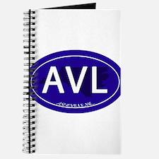 Asheville NC Blue AVL Journal