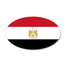 Egypt Flag Wall Decal