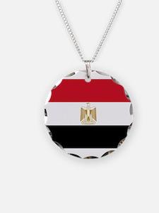Egypt Flag Necklace