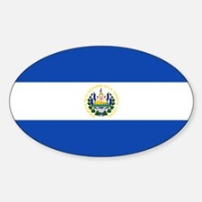 El Salvador Flag Decal