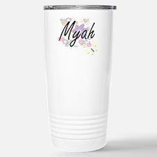 Myah Artistic Name Desi Stainless Steel Travel Mug