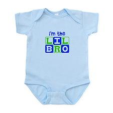I'm the lil bro Infant Bodysuit