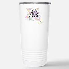Nia Artistic Name Desig Stainless Steel Travel Mug