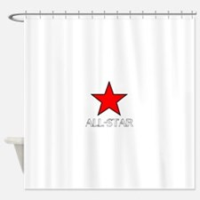 ALL STAR Shower Curtain