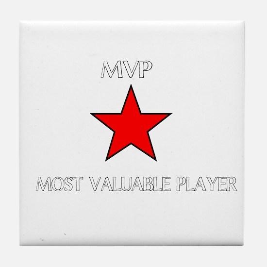 ALL STAR MVP Tile Coaster