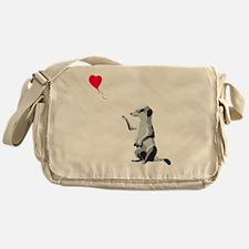 Funny Meerkat Messenger Bag