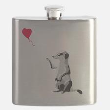 Funny Meerkat Flask