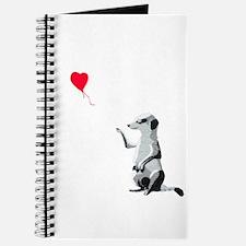 Meerkat with the heart-shaped balloon - Va Journal