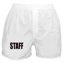 Cute Staff Boxer Shorts