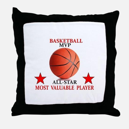BASKETBALL MVP ALLSTAR Throw Pillow
