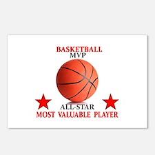 BASKETBALL MVP ALLSTAR Postcards (Package of 8)