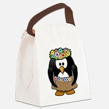 Funny Indigenous Canvas Lunch Bag