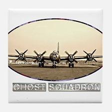 B-29 Bomber - Ghost Patrol Tile Coaster