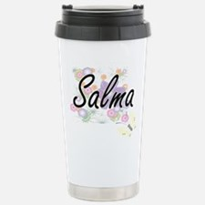 Salma Artistic Name Des Travel Mug
