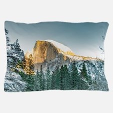 Half Dome in Winter Pillow Case