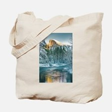 Half Dome in Winter Tote Bag