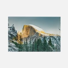 Half Dome in Winter Magnets