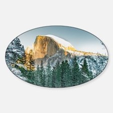Half Dome in Winter Decal
