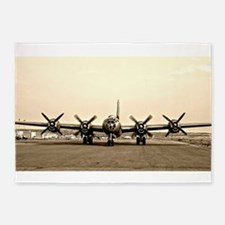 FIFI B-29 Vintage USAF Bomber 5'x7'Area Rug