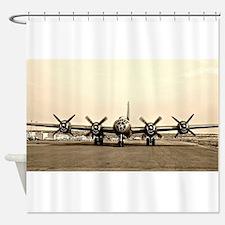 FIFI B-29 Vintage USAF Bomber Shower Curtain