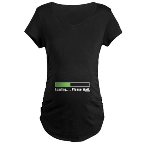 Loading Maternity Dark T-Shirt