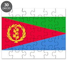 Eritrea Flag Puzzle