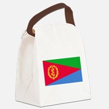 Eritrea Flag Canvas Lunch Bag
