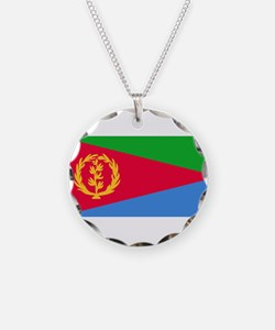 Eritrea Flag Necklace
