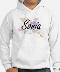 Sonia Artistic Name Design with Hoodie