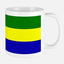 Gabon Flag Mugs