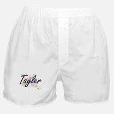 Tayler Artistic Name Design with Flow Boxer Shorts