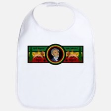 Smile Selassie Bib