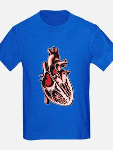 Half Human Heart T