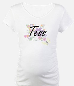 Tess Artistic Name Design with F Shirt
