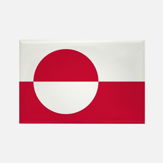 Greenland Flag Magnets