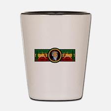 Smile Selassie Shot Glass