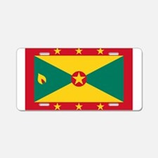 Grenada Flag Aluminum License Plate